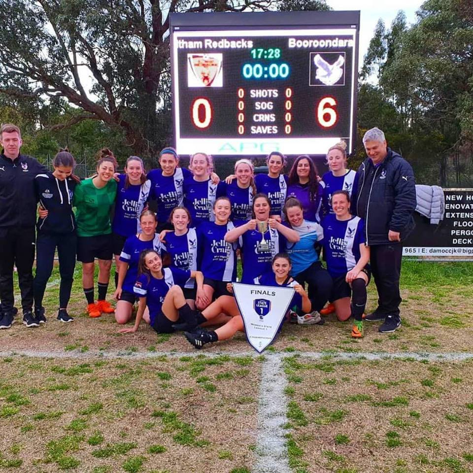 Photos of our Superstar Girls - Boroondara Eagles FC